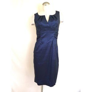 Adrianna Papell Size 8 Blue Cocktail Dress